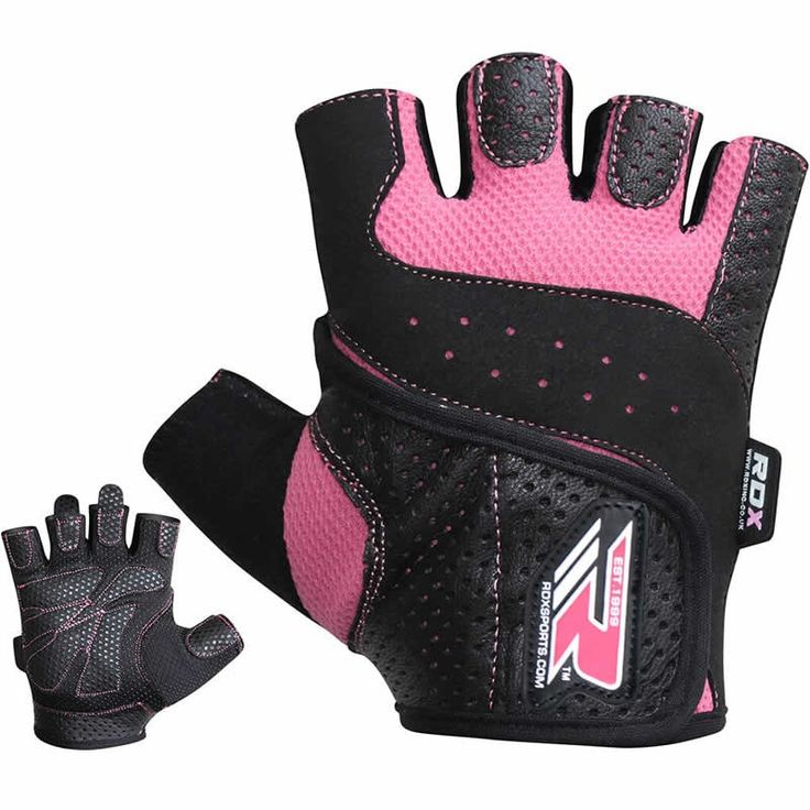 RDX Ladies Bodybuilding Weight Lifting Gym Gloves