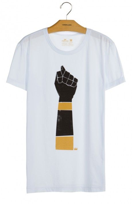 Osklen - T-SHIRT STONE VINTAGE FIGA MC - t-shirts - men