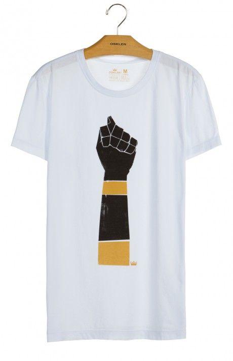 Osklen - T-Shirt Stone Vintage Figa Mc - Osklen