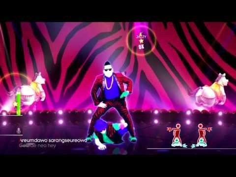 Just Dance 2014 Gangnam Style by Psy Music w/ Lyrics HD Video Classic DLC - YouTube