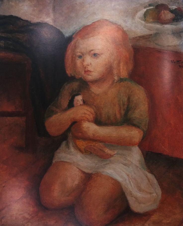 Ritratto di Anita, 1939, Luigi Vettori