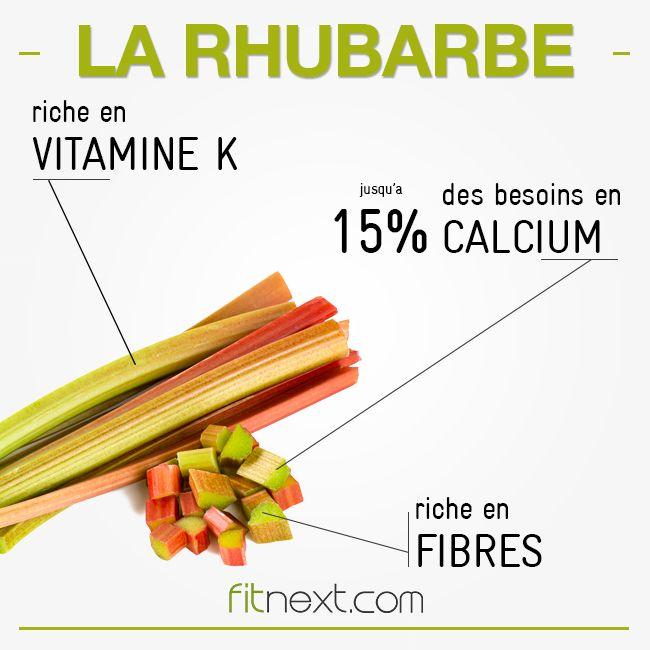 La #rhubarbe fait partie des aliments riches en fibres, antioxydants et vitamines C et K ! Un super aliment à ne pas noyer sous une tonne de sucre :)