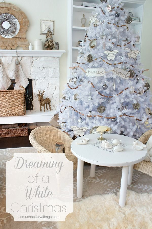 Dreaming of a White Christmas - Balsam Hill Christmas Tree | So Much Better With Age