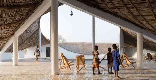 Artists' residency and cultural center | Toshiko Mori Architect | Sinthian (Senegal)