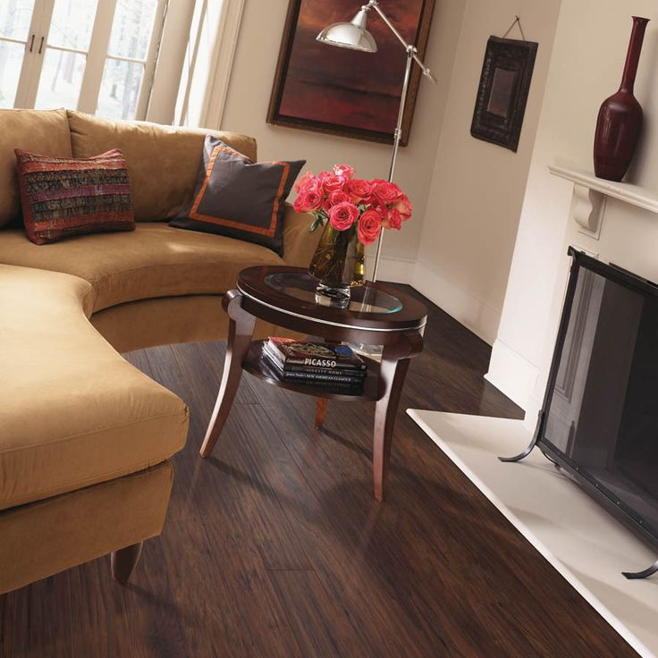 Style Selections Laminate Flooring image Shop Style Selections 484 In W X 393 Ft L Chestnut Hickory Handscraped Laminate Wood Planks At Lowescom Kitchen Ideas Pinterest Shops