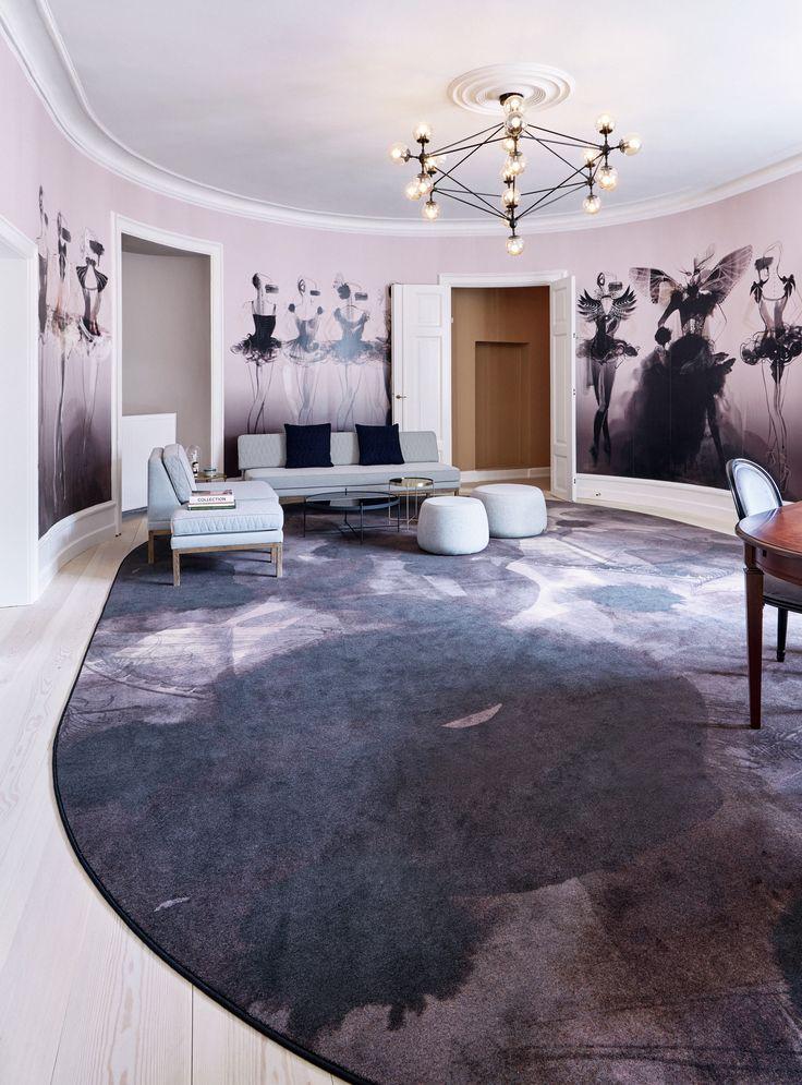 Location: Brønnums Hus Office Club, Copenhagen, Denmark. Custum designed carpets by #egecarpets