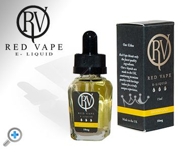 Havana Gold Red Vape electronic cigarette e-liquid made with natural ingredients 100% AMAZING.Red Vape has been working tirelessly to source the best natural ingredients for there International Collection of RV Premium e-liquids. They use only the best premium pharmaceutical grade nicotine and all their blends result in a 50% VG and 50% PG combination.