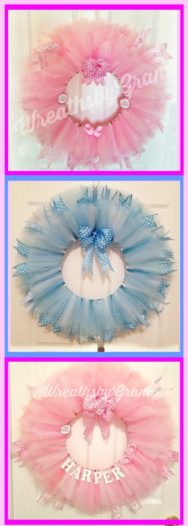 Baby Shower Ideas. Baby Wreath for Hospital Door. Baby Wreath Girl. Baby Wreath Boy. New Baby Gifts. Nursery Wall Decor. Nursery Decor. Pregnancy Announcement. Gender Reveal Ideas. Gender Reveal Party. #baby #babygirl #babyboy #wreaths #nurserydecor #babyshowerdecorations #babyshowerideas4U #babyshowergifts #babywreath #wreathdecor #gifts