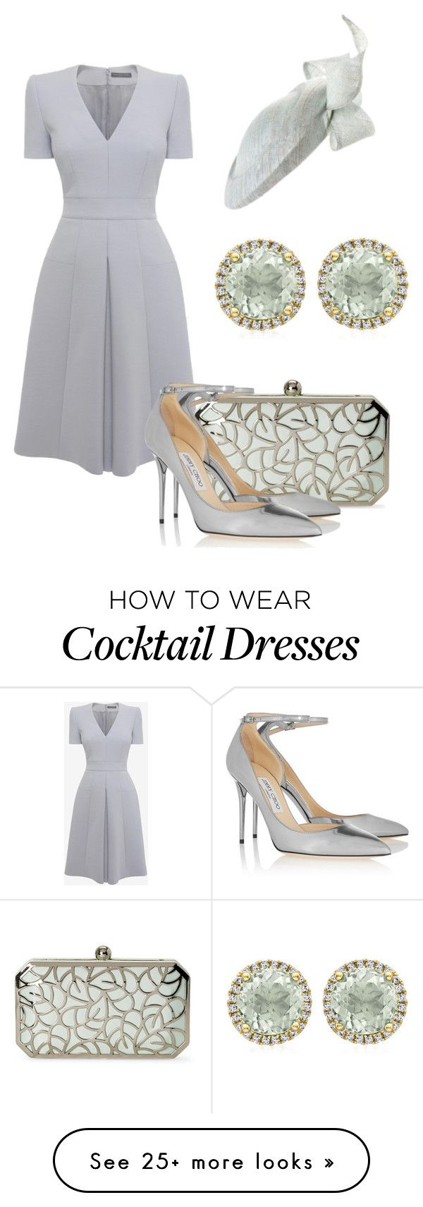 """Без названия #1145"" by svetlana-kazantsewa on Polyvore featuring Alexander McQueen, La Regale, Jimmy Choo and Kiki mcdonough"
