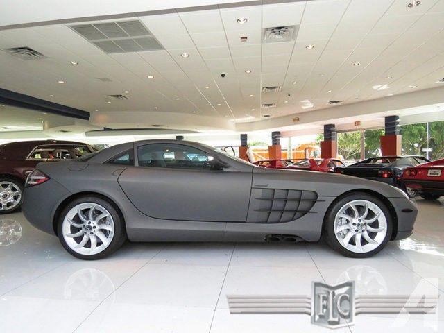 Mercedes-Benz SLR McLaren Price On Request