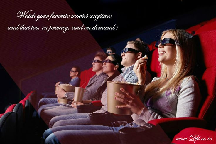 Movie on demand at Casa Romana