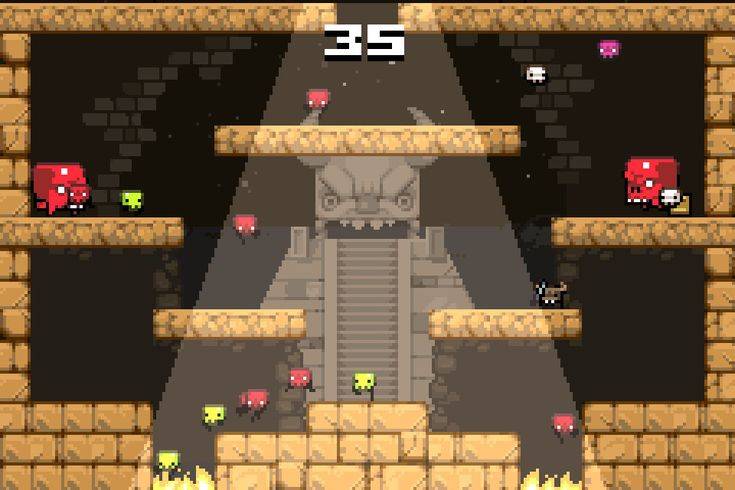 This video game review recommends Vlambeer's Super Crate Box, an arcade action platformer, as a brilliantly designed game with a unique gameplay twist.