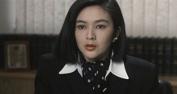 Rosamund Kwan - a retired Hong Kong actress of the 80's.
