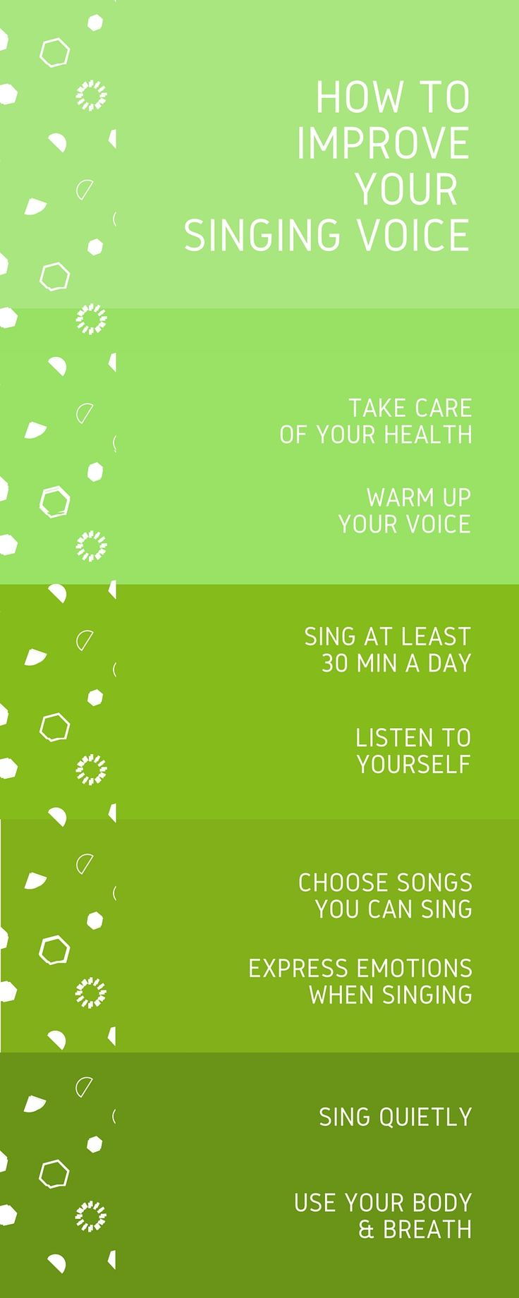 How to improve your voice as a singer? Here are the best 8 steps to take.