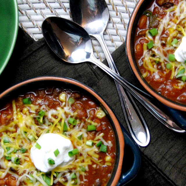 Bean and Beef Chili | Recipes - Soups & Stews | Pinterest