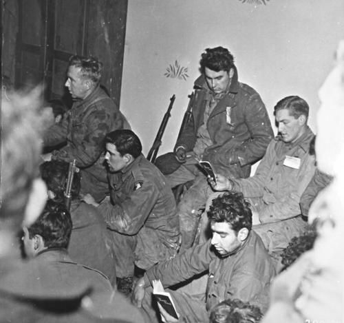 Troopers of the 101st sometime during the Battle of the Bulge