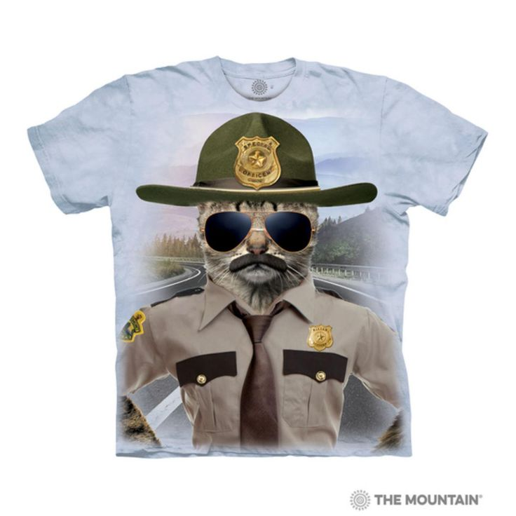 The Mountain Unisex Adult Cat Brothers Manimal T Shirt