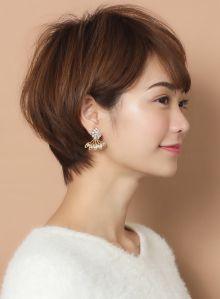 美シルエット!!大人のフレンチショート|髪型・ヘアスタイル・ヘアカタログ|ビューティーナビ