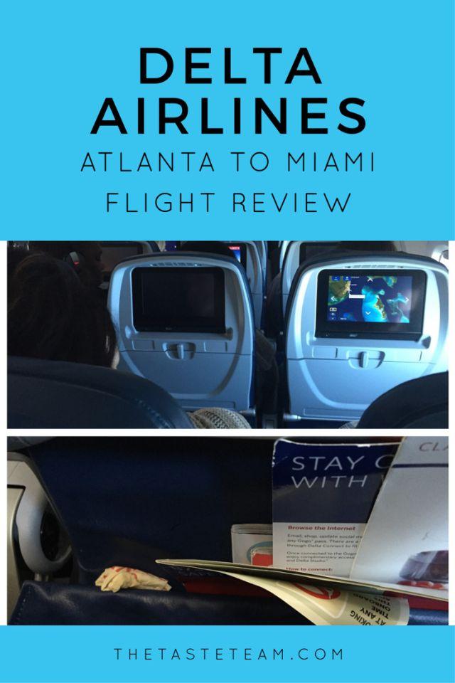 Delta Airlines Atlanta to Miami Flight Review