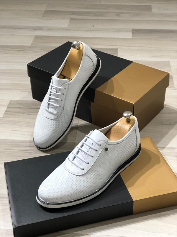 The White Habel Laced Sneakers