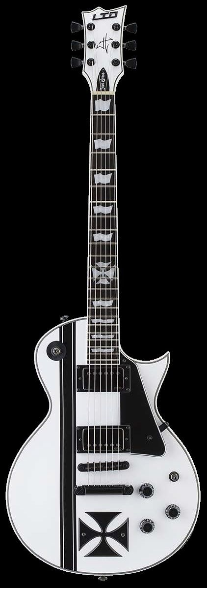 ESP LTD Iron Cross James Hetfield 2014 Electric Guitar W Case