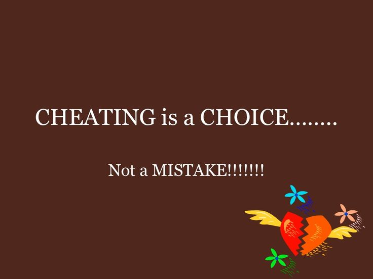 Deal Someone On Who Cheated To You With How