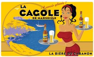 La Cagole : la bière du cabanon, à servir glacée bien sûr !