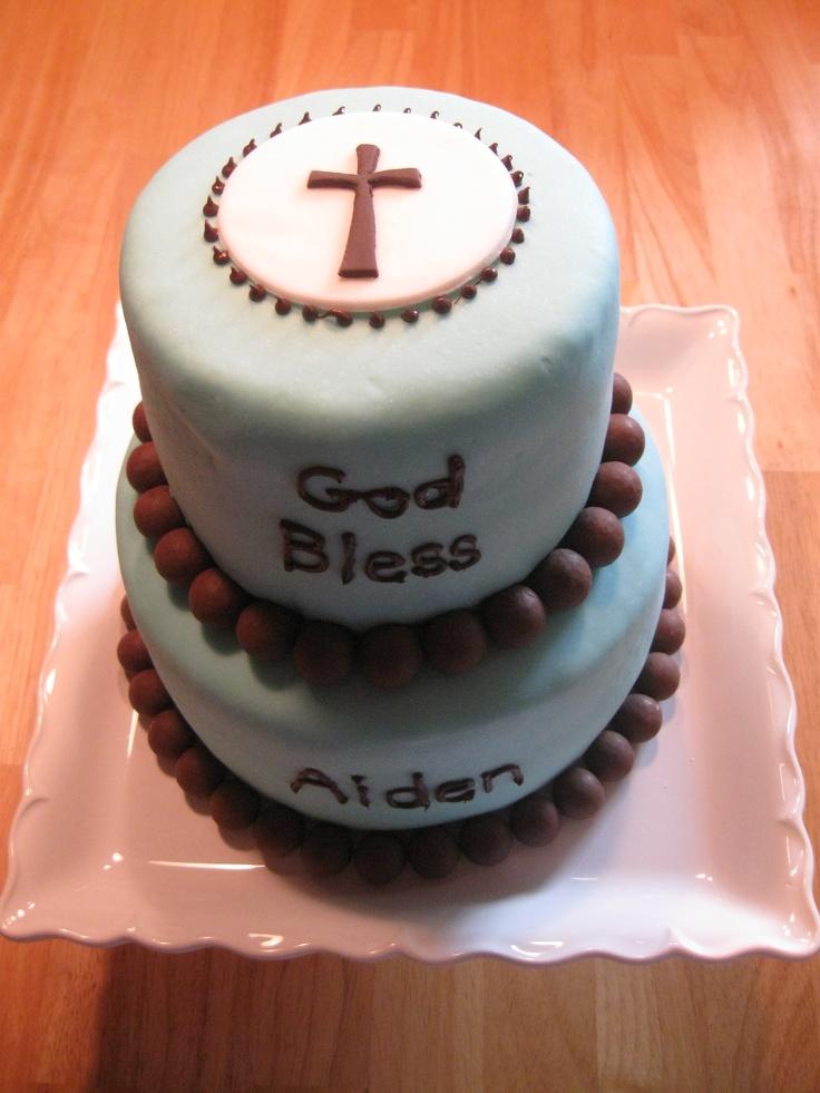Baptism Cake Boxes