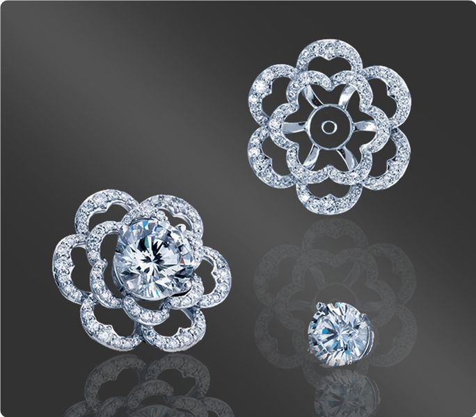 Discover classic and timeless diamond Earring Jack…