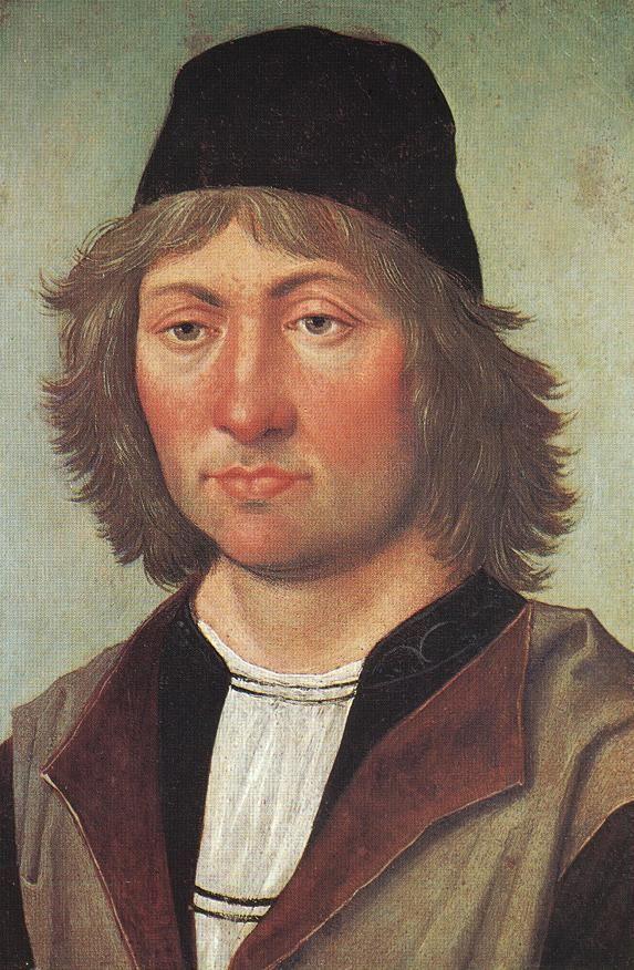 Self-portrait -   Pedro Berruguete (1450-1504) Oil on canvas Museo Lázaro Galdiano, Madrid