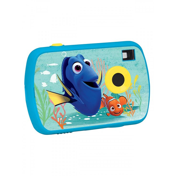 This cool Finding Dory 1.3MP Digital Camera is perfect for getting any little budding photographers interested in taking their own pictures of friends, family and the world around them! Not to mention the fun Finding Dory graphics which are sure to delight any fan!