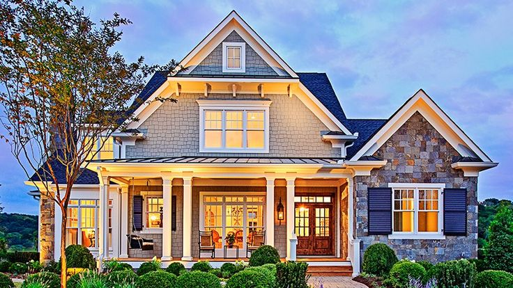 MY NEW HOME Home Plan HOMEPW10826 - 3878 Square Foot, 4 Bedroom 4 Bathroom Craftsman Home with 3 Garage Bays | Homeplans.com
