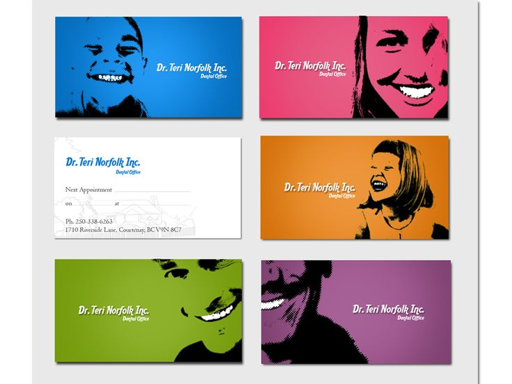 Unique Business Card Design - like how they are all different and personal