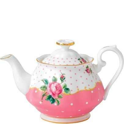 Royal Albert Cheeky Pink Dinnerware Teapot .45L