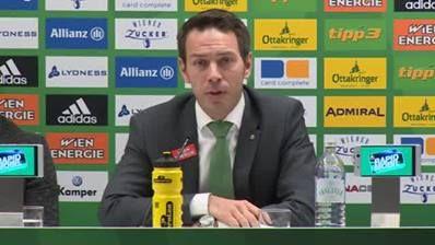 Die Pressekonferenz vor dem Wiener Derby am Sonntag!