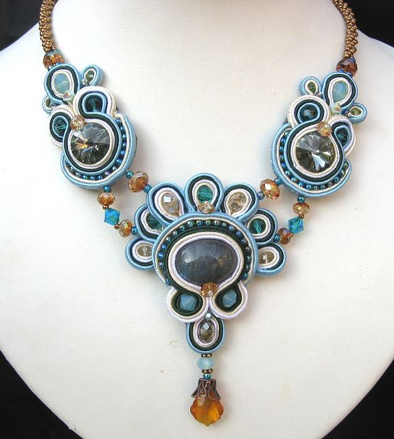 Flight of Fancy Necklace by Cielo Design, via Flickr