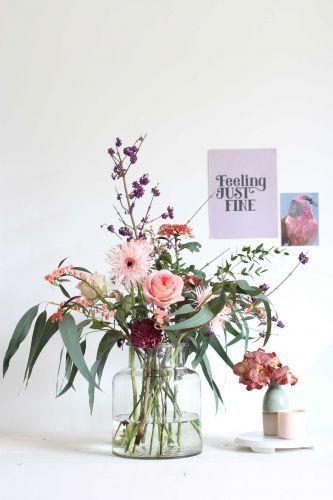 Judith Slagter - autumn flowers // judithslagter.nl // #boeket #herfstboeket