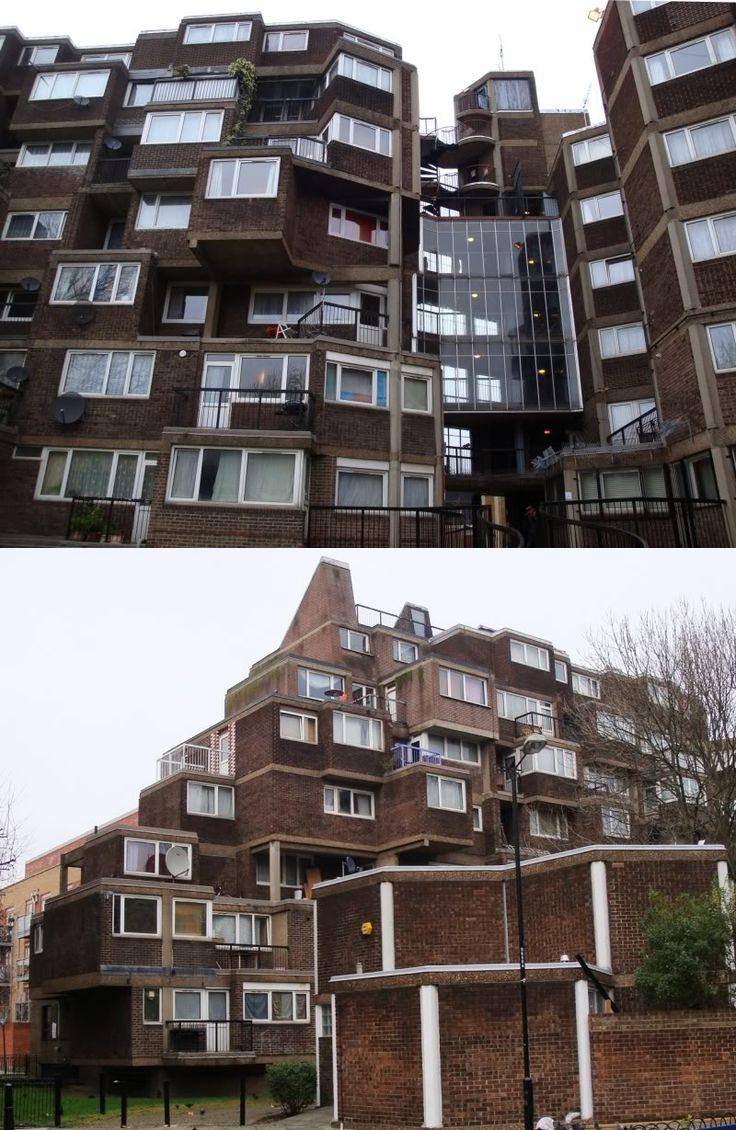 Ashington House in Bethnal Green, East London
