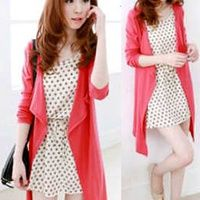 Mini dress korea cantik candise set KK203