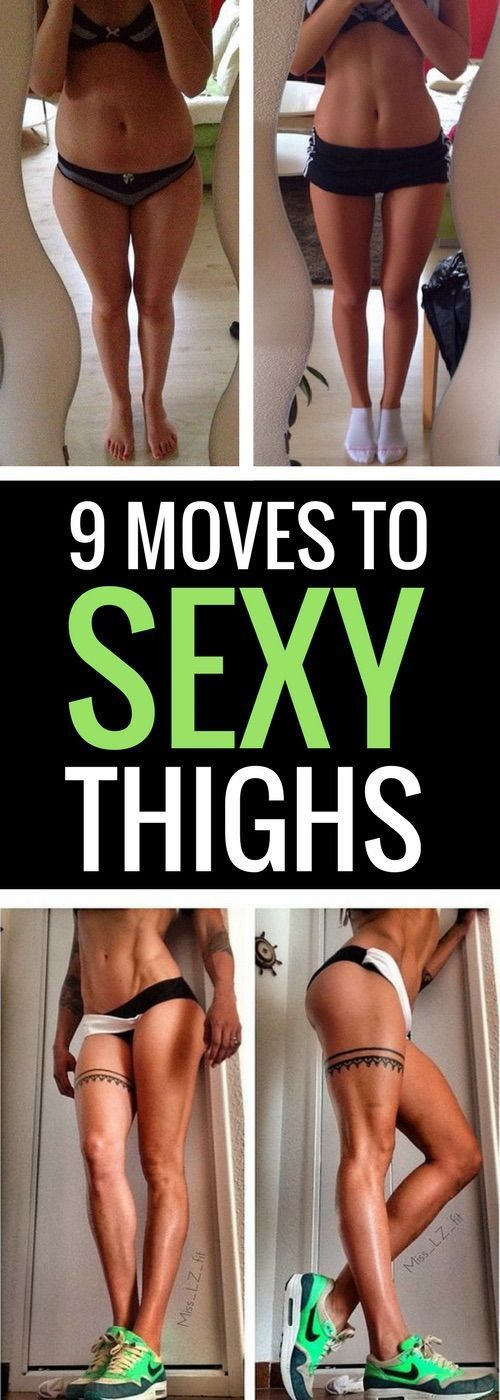9 Best Leg Exercises to Tone Your Inner & Outer Thighs
