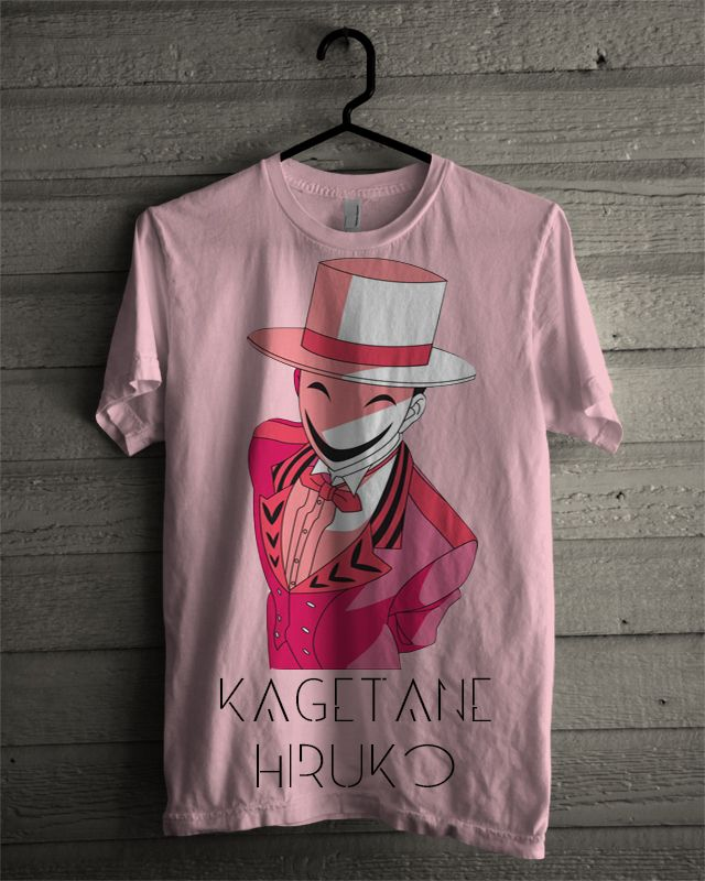 """T-shirt Kagetane Hiruko """"Black Bullet"""""""