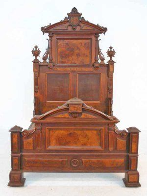 87 best old beds images on pinterest antique furniture for Queen victoria style furniture