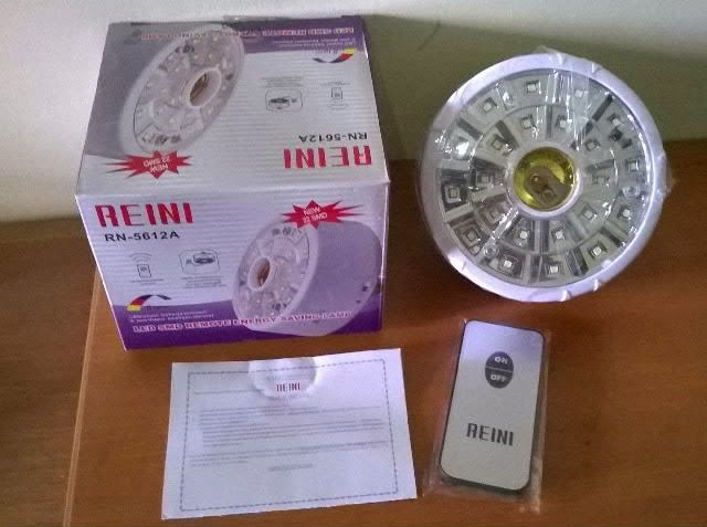 BG homeshoping Magelang: Lampu Emergency Reini Remot 24 LED