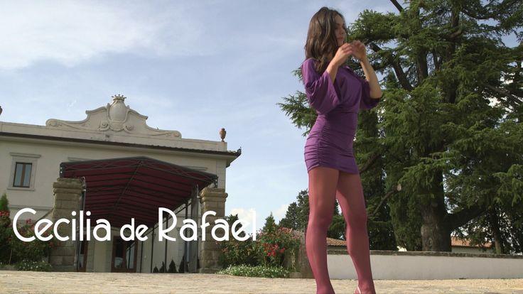 Cecilia de Rafael Hosiery Promotion