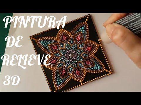 Comme la peinture à l'acrylique mandalas # 4 - Peinture mis en évidence - YouTube