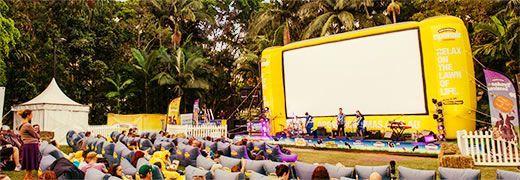 Ben & Jerry's Openair Cinemas - Brisbane: Home
