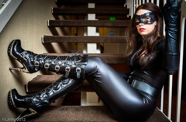 Dc Comics: Batman. Character: Selina Kyle - Catwoman. Versión: Batman Rises. Cosplay: Meredith ...