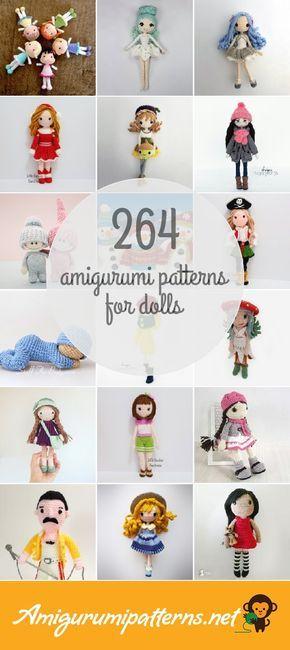 264 Dolls Amigurumi Patterns