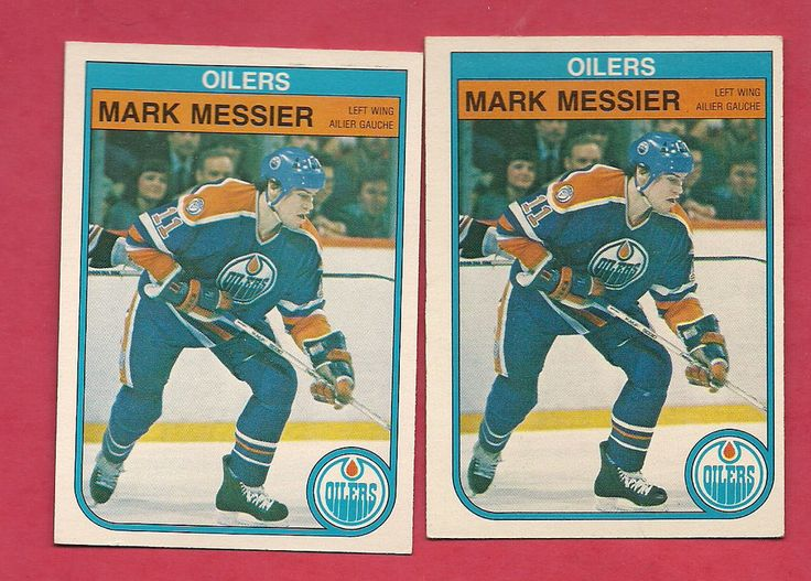 2 x 1982-83 opc # 117 oilers mark messier   card from $10.0