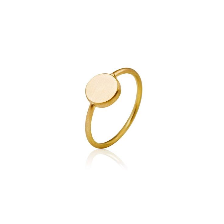 Skive ring håndlavede designer smykker » nuuru.com - Smykker, fashion & design  Nuuru